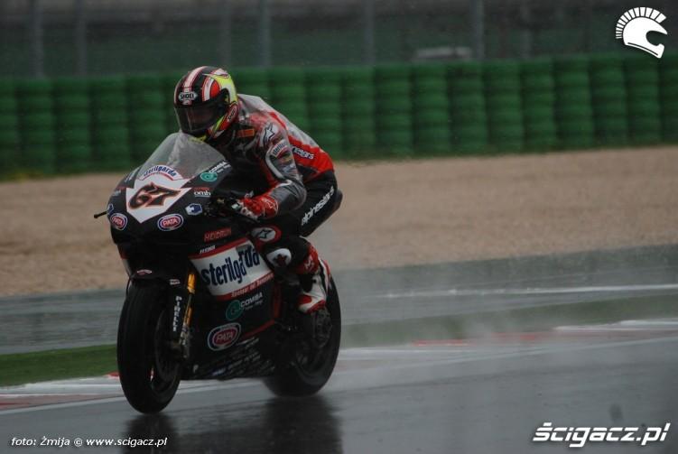 Shane Byrne wet race