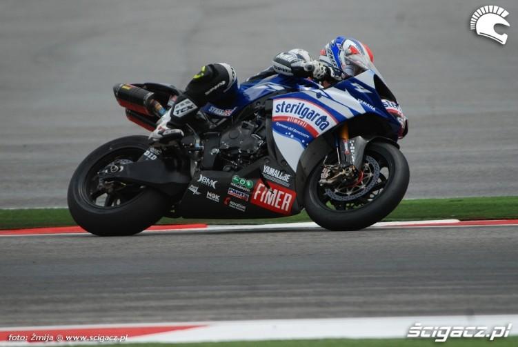 Tom Sykes Yamaha WSB