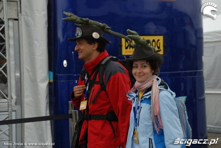 czapki z aligatorami