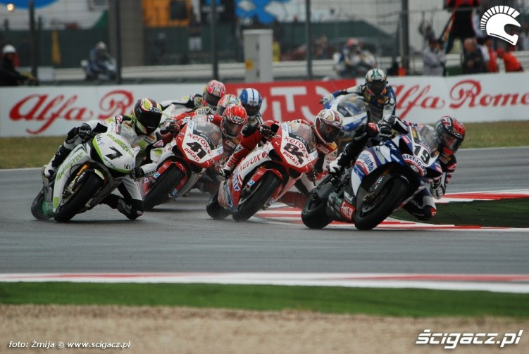 superbike race photo misano