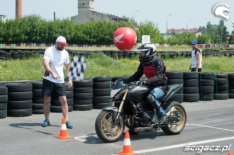 na starcie Honda Gymkhana Radom 2012 2