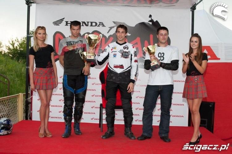 podium Honda Gymkhana Radom 2012