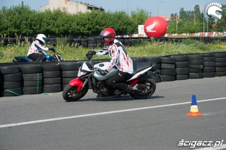 przejazd Honda Gymkhana Radom 2012