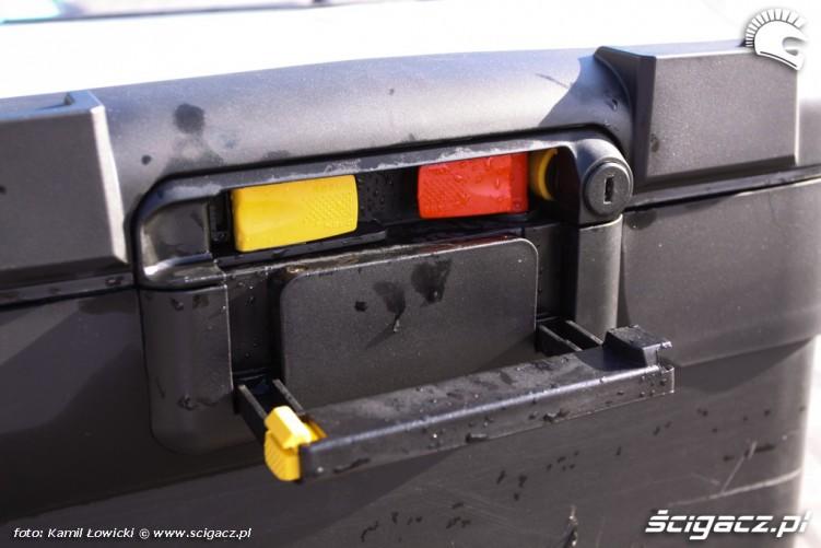 kufer zamkniecie BMW R1200GS