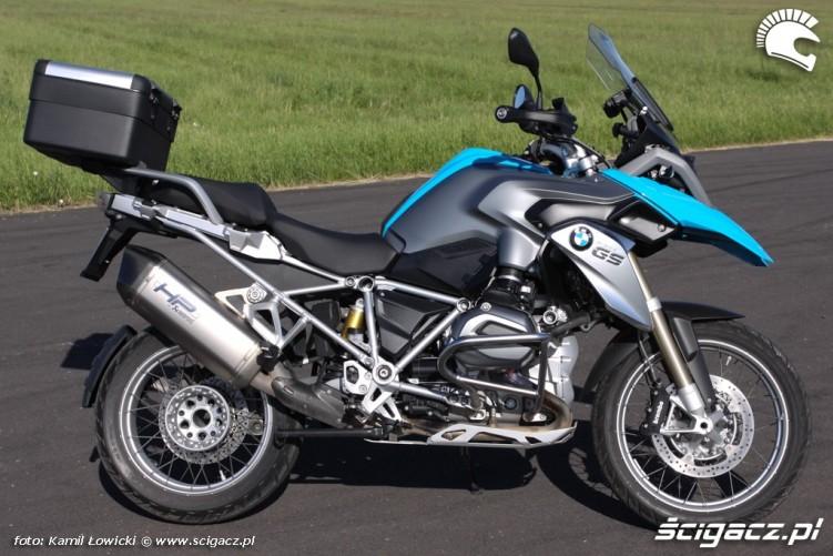 prawa strona BMW R1200GS