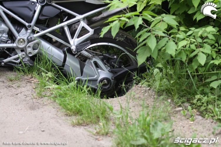 w rowie BMW R1200GS