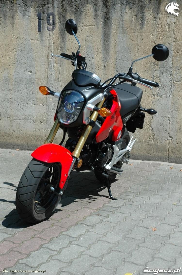 Honda MSX 125 2014 od przodu