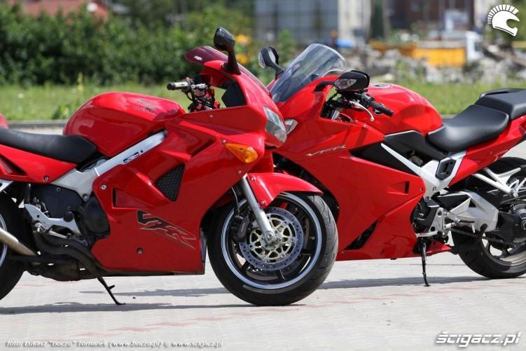 VFR motocykle