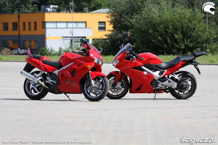 motocykle VFR