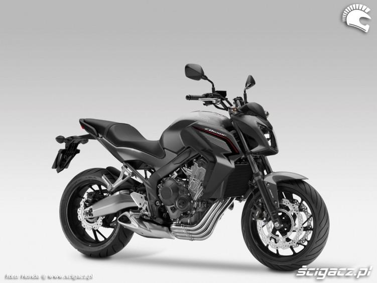 Honda CB650F 2014 czarna