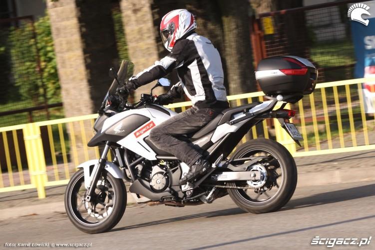 Honda NC 750 X 2014 na miescie
