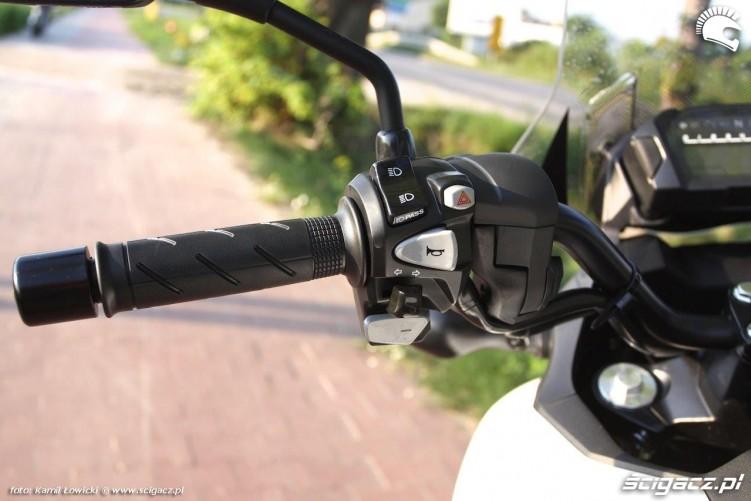 Honda NC 750 X kierownica