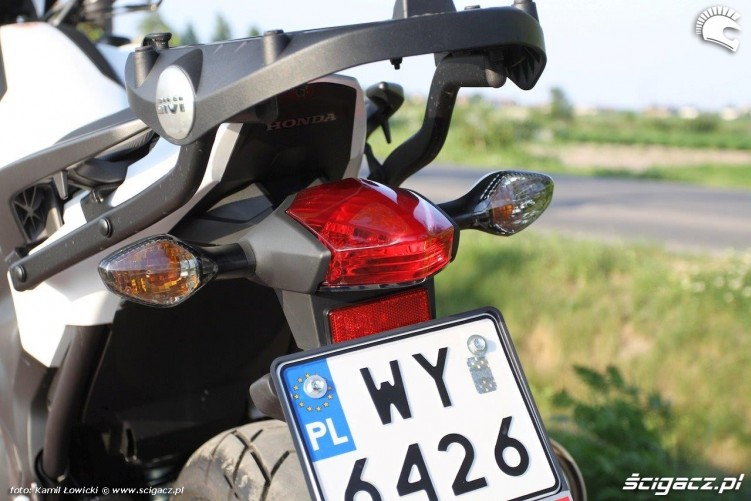 Tylna lampa Honda NC 750 X