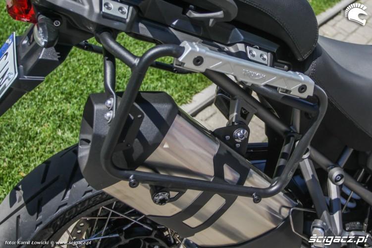 mocowanie kufrow Triumph Explorer XD