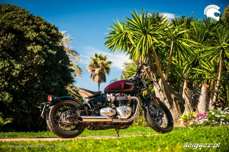 Triumph Bobber Bonneville