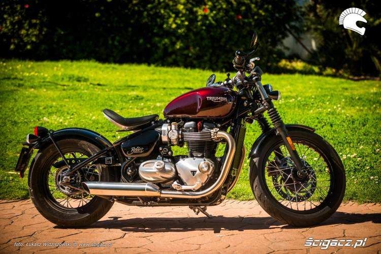 Triumph Bobber Bonneville 1200