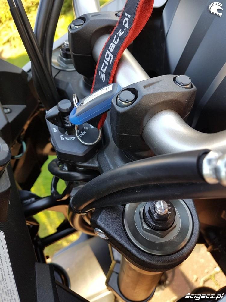 Suzuki V Strom 1000 2017 kluczyk