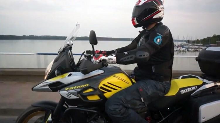 Suzuki V Strom 1000 model 2017