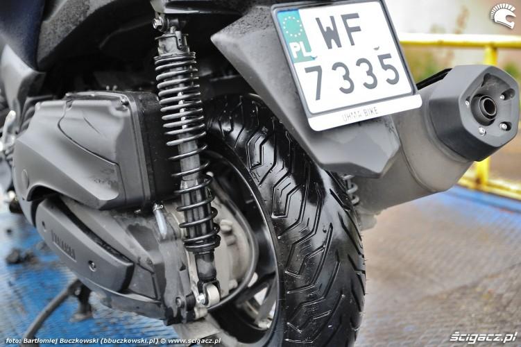 Yamaha X MAX 400 2018 opona tyl