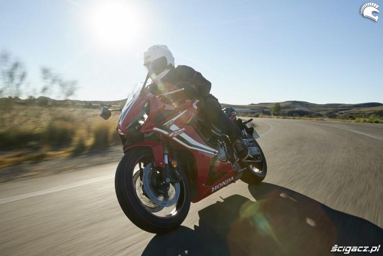 Honda CBR 650 R 2019 dynamika 14
