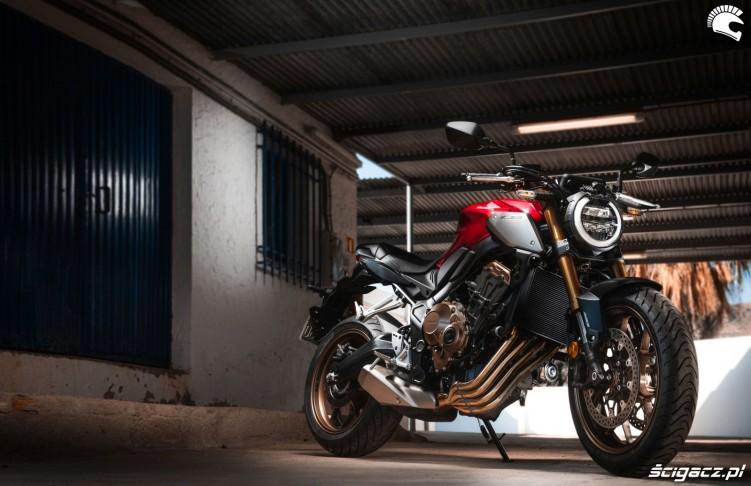 Honda CB650R 2019 statyka 12