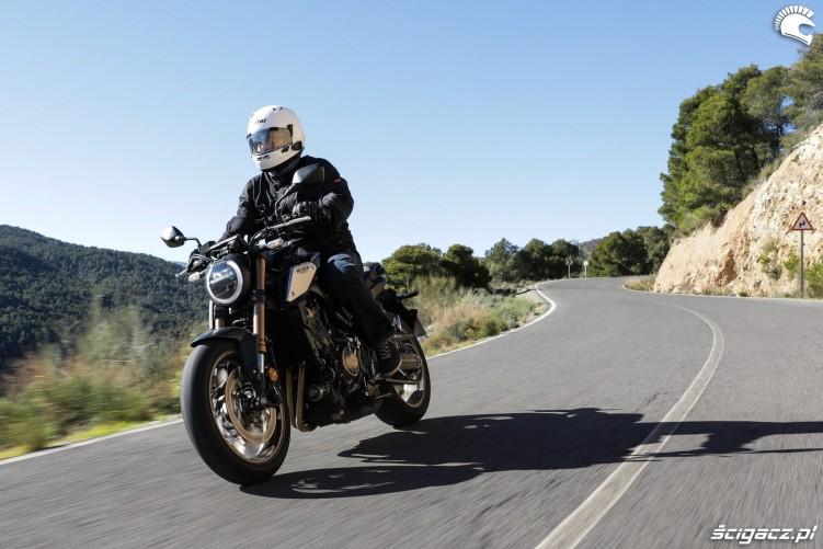 Honda CB 650R 2019 akcja 19