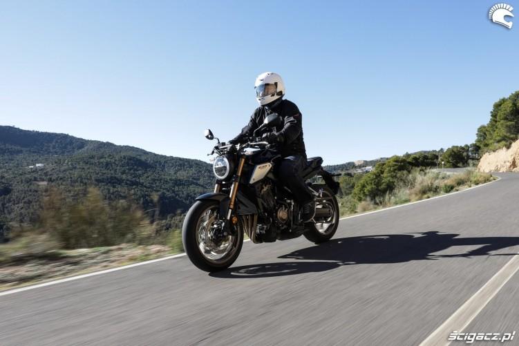 Honda CB 650R 2019 akcja 20