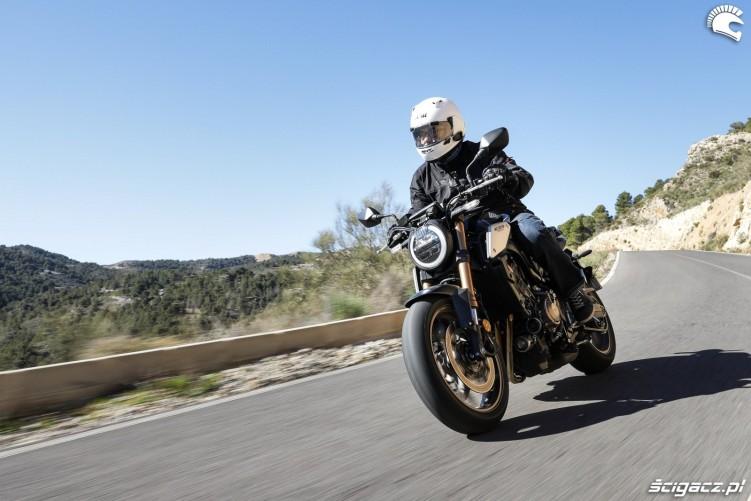 Honda CB 650R 2019 akcja 21
