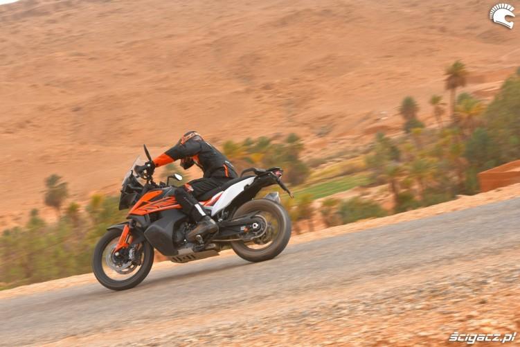 KTM 790 Adventure on road 10