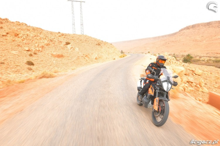 KTM 790 Adventure on road 18