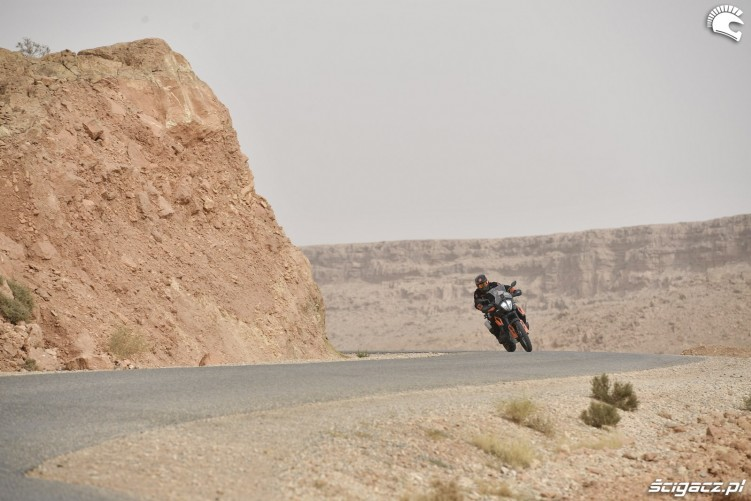 KTM 790 Adventure on road 24