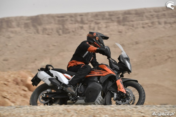 KTM 790 Adventure on road 27