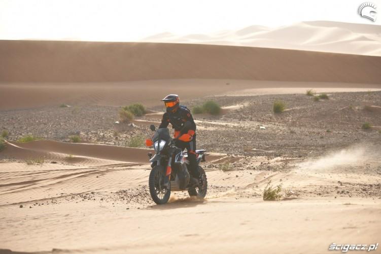 piach wydmy pustynia ktm 790