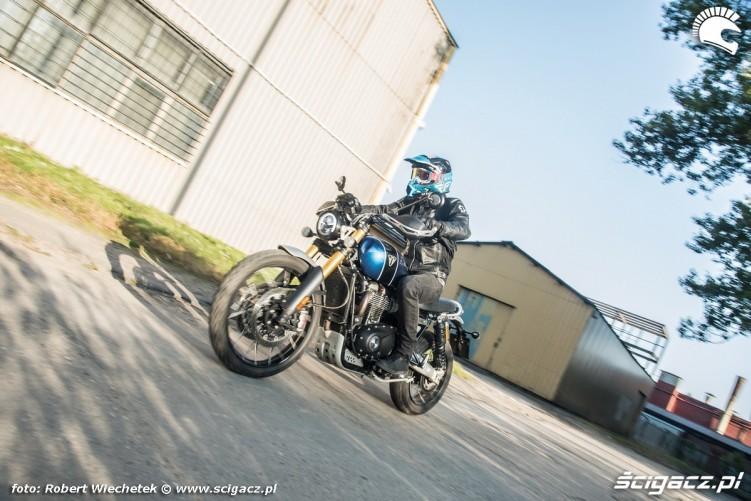 Triumph Scrambler 1200 XE Barry lewy
