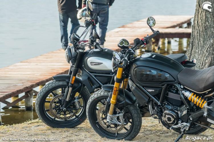 Ducati Scrambler 800 Ducati Scrambler 1100 duet