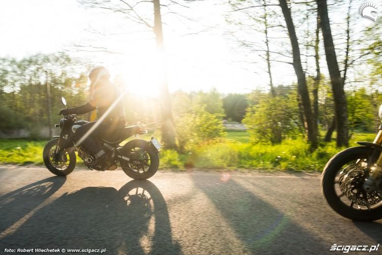 Ducati Scrambler 800 Ducati Scrambler 1100 promienie