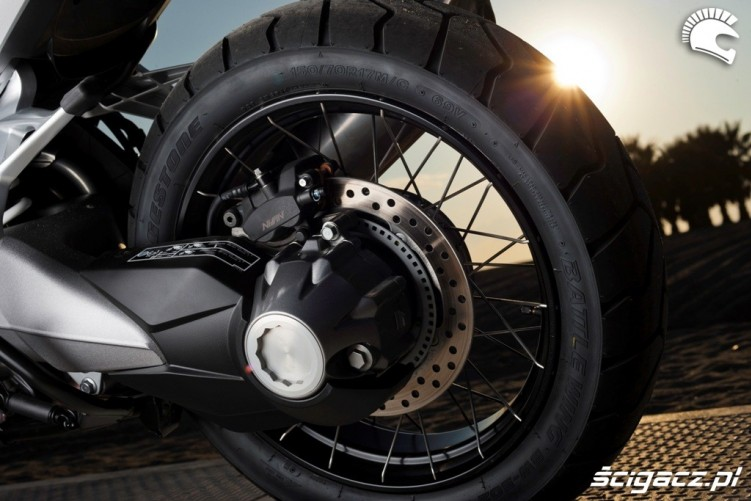 Wal napedowy Honda CrossTourer 2012