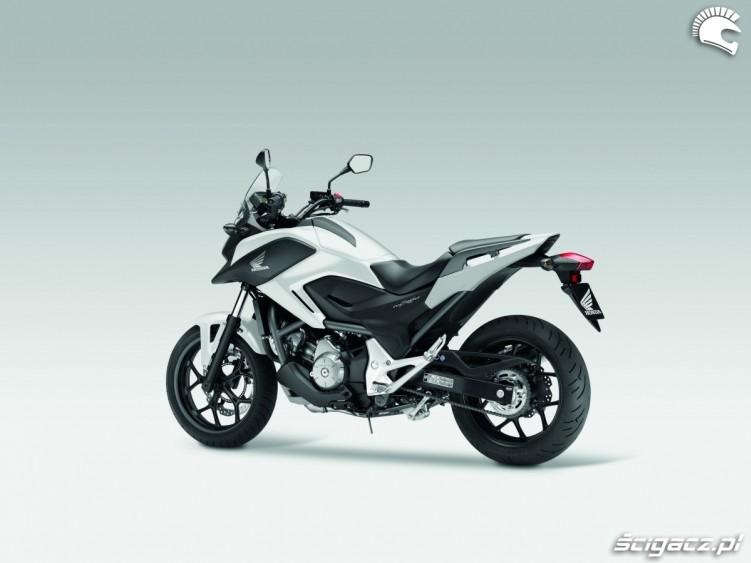 Honda NC700X YM 2012 bialy