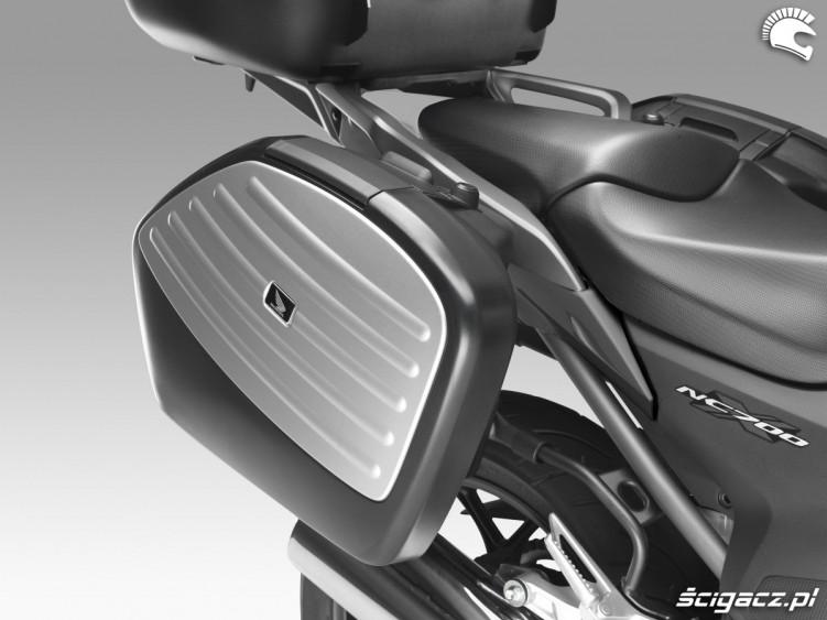 Kufry do Honda NC700X