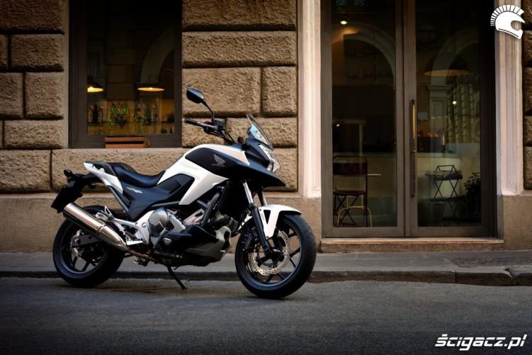 Na ulicy Honda NC700X YM 2012