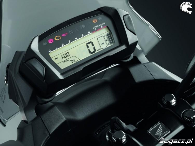 Predkosciomierz Honda NC700X