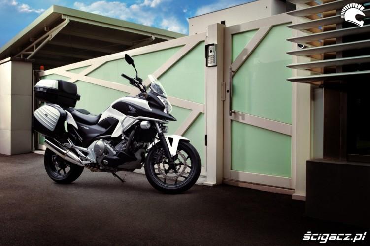 Turystycznie Honda NC700X YM 2012