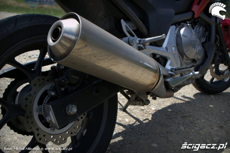 Honda NC 700X wydech