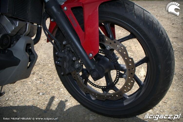 hamulce Honda NC 700X