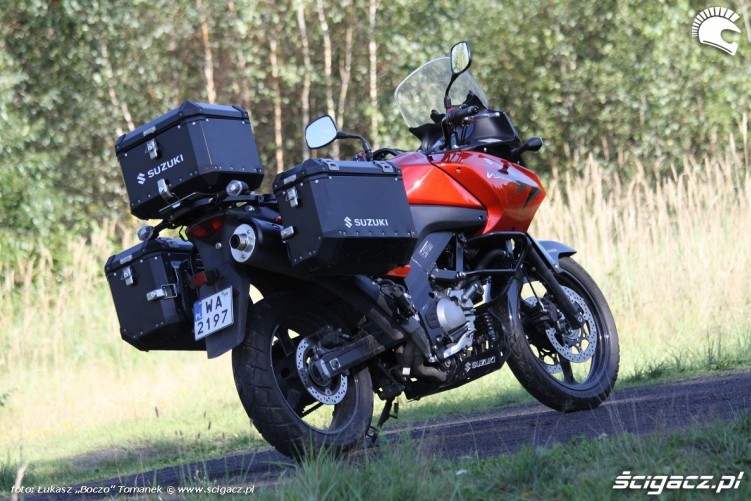 tyl Suzuki DL650 test