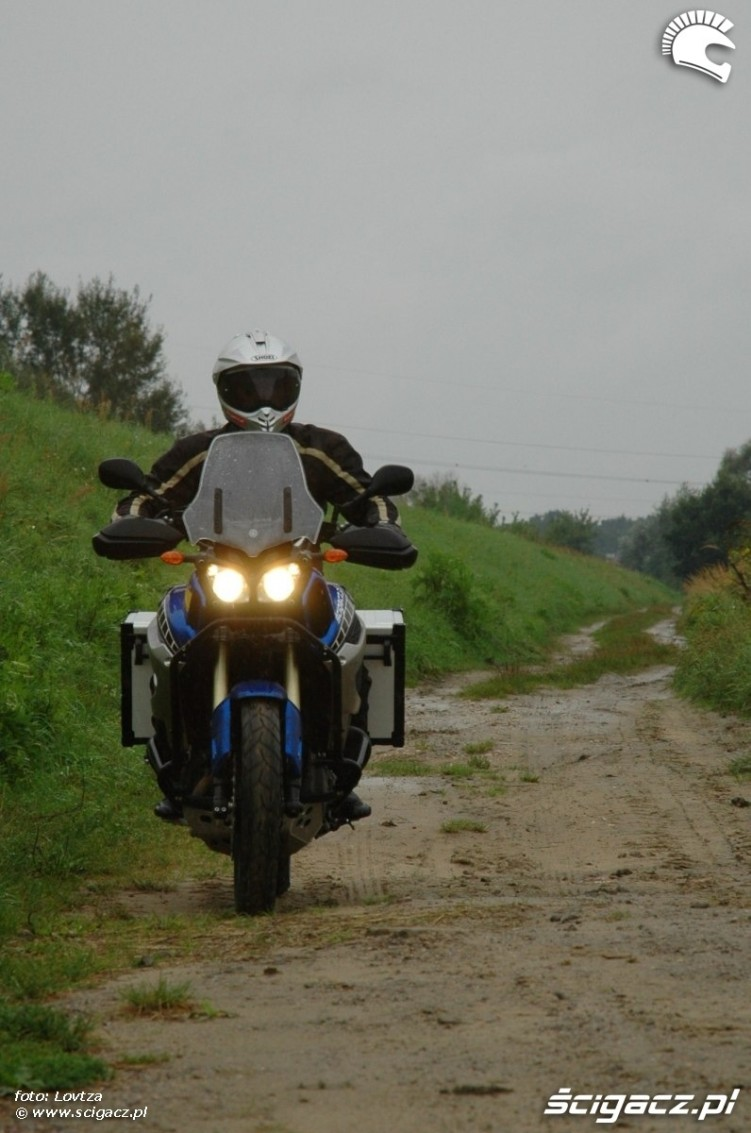 na piachu Yamaha XT1200Z Super Tenere