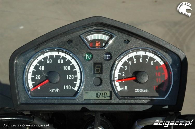 Zipp Nitro 250 2010 zegary