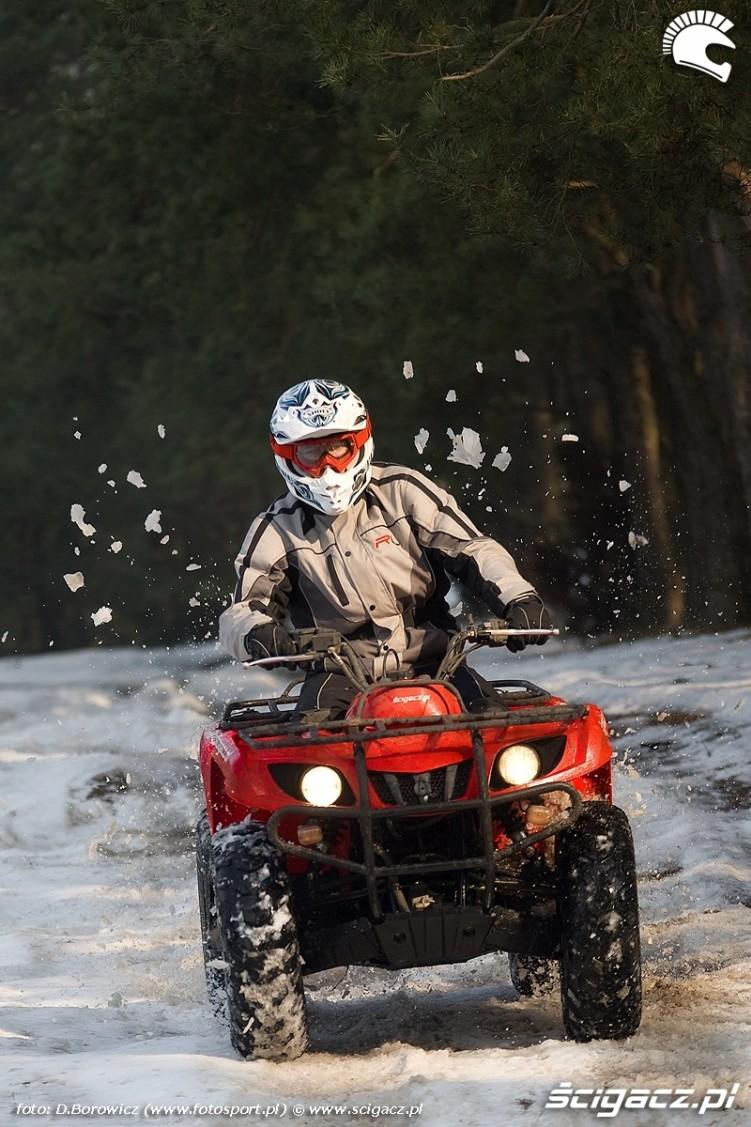 jazda w sniegu grizzly 350 yamaha test a mg 0220