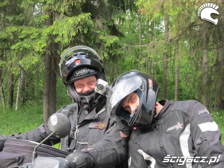 motocyklisci