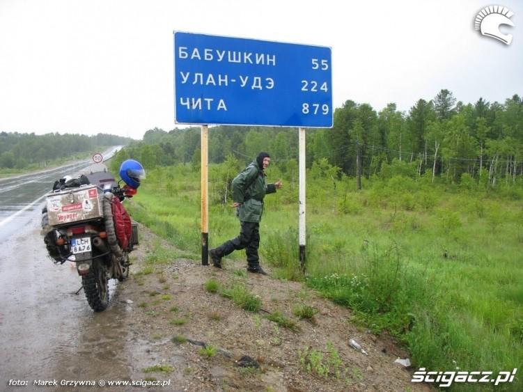 Droga do Czita Syberia